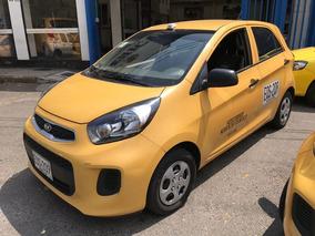 Taxi Kia Picanto Ion 1.250 Con Aire, Recibo Usado O Cupo