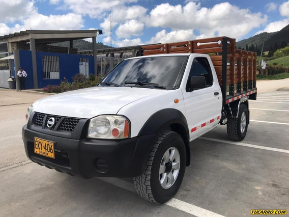 Nissan Frontier Estacas 4x4 3.0cc Mt