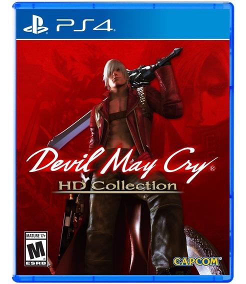 Devil May Cry Hd Collection Ps4 Mídia Física Lacrado