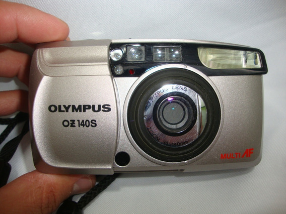 Antiga Camera Olympus Oz 140s Funcionando