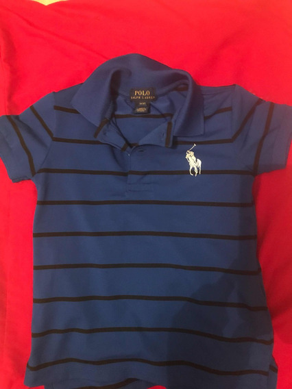 Playera Ralph Lauren Polo Talla 3
