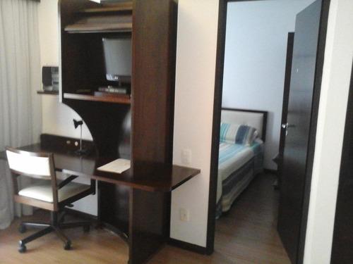 Flat 1 Dormitório - Mobiliado - Moema - Fl1485