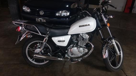 Suzuki Gn 125 Año 2018 Color Blanca