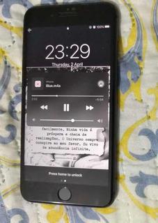 iPhone 8 Plus 64g Preto Semi Novo