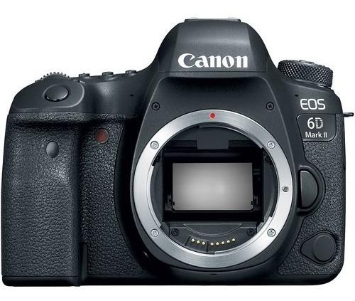 Câmera Canon Eos 6d Mark Ii - Corpo + Nf 1 Ano De Garatia