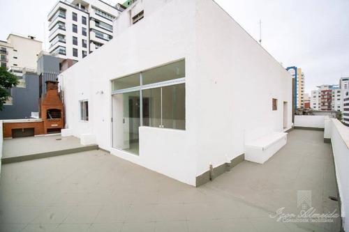 Imagem 1 de 22 de Cobertura Com 2 Dormitórios À Venda, 115 M² Por R$ 907.000,00 - Consolação - São Paulo/sp - Co1210