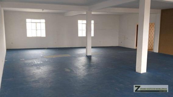 Salão Para Alugar, 160 M² Por R$ 1.760,00/mês - Jardim Bom Clima - Guarulhos/sp - Sl0008