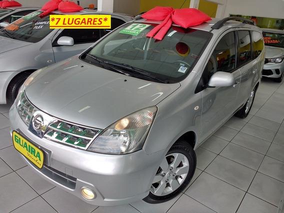 Nissan Grand Livina 2012 1.8 Sl Flex Aut. 5p