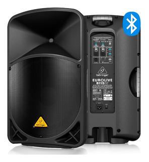 Ftm Caja Potenciada Behringer Eurolive B115w Bluetooth Usb