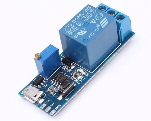 Temporizador Ajustable 0-24 Segundos Con Rele 5-30 V Arduino