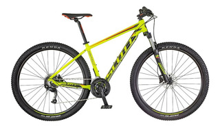 Bicicleta Scott Aspect 750 Amarillo/rojo Mountain Bike 27.5