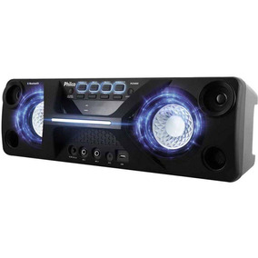 Caixa De Som Philco Pcx4000 130w Rms Bluetooth Mp3 Usb Fm