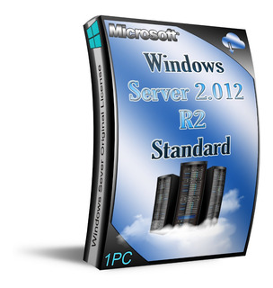 Lic. Server 2012 R2 Standard, 1 Pc Entrega Inmediata