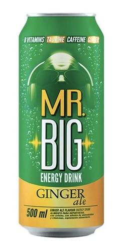 Mr Big 500cc Ginger (24 Unidades) Incluye Despacho