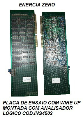Placa Wireup De Ensaios Eletronicos Cod. 4502