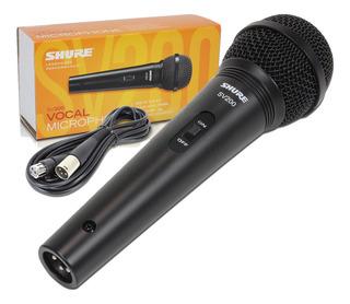 Micrófono Dinámico Cardioide Shure Sv200 Cable Xlr Cuotas
