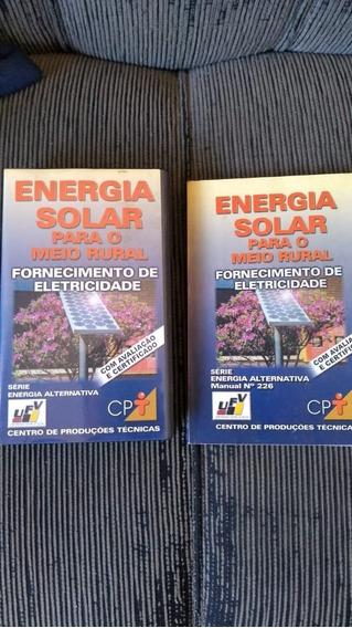 Curso Energia Solar Fotovoltaic C/fita De Video Raridade Cpt