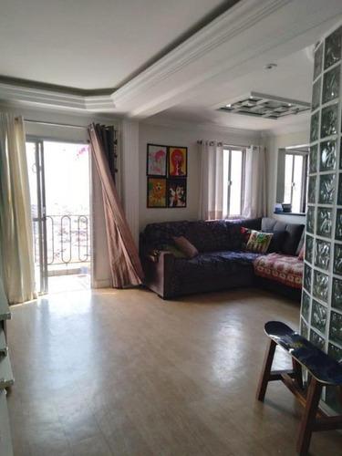 Apartamento Duplex Com 2 Dormitórios À Venda, 96 M² Por R$ 500.000,00 - Vila Alpina - São Paulo/sp - Ad0029