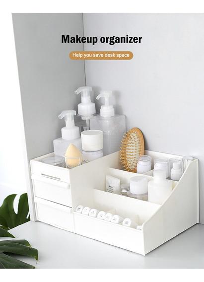 Caja Organizador Plástico Hogar Para Maquillaje / Joyas