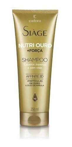 Shampoo Siàge Nutri Ouro 250ml - Eudora