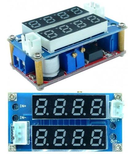 Modulo Reductor Dc-dc 1.25v-·35v  5a Con Display Volt/amp