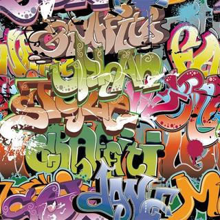 Papel Muresco Vinilizado Graffiti 37231 Soul