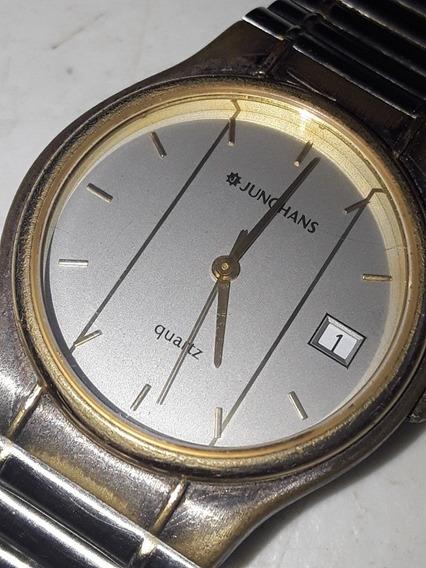 Relógio Junghans Quartz Funciona 100%