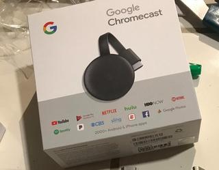 Convertidor De Tv Normal A Tv Smart - Chromecast - 3ra Gen