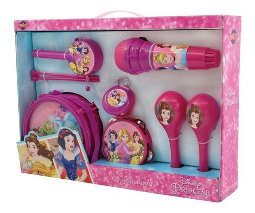Disney Princesas Kit Instrumento Musical Toyng Ref 29721