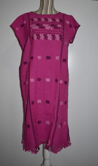 Vestido Bordado Mexicano, Huipil, Vestido Tradicional,amuzgo