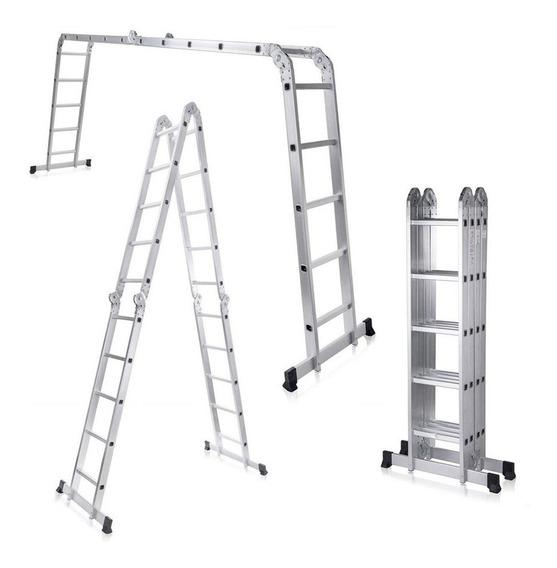 Escalera Multifuncion Articulada Plegable Escalones 4x5 - Prestigio