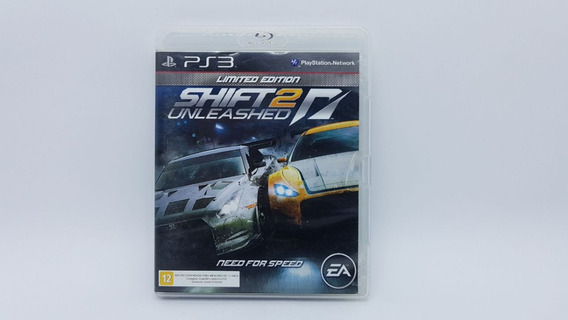 Need For Speed Shift 2 Unleashed - Ps3 - Midia Fisica