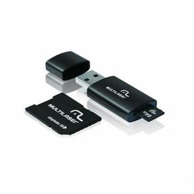 Cartão De Memória Multilaser 64 Gb Micro Sd+usb Com Adaptado