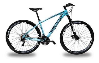 Bicicleta Rino Everest Aro 29 Freio Disco 24v Câmbios Shiman
