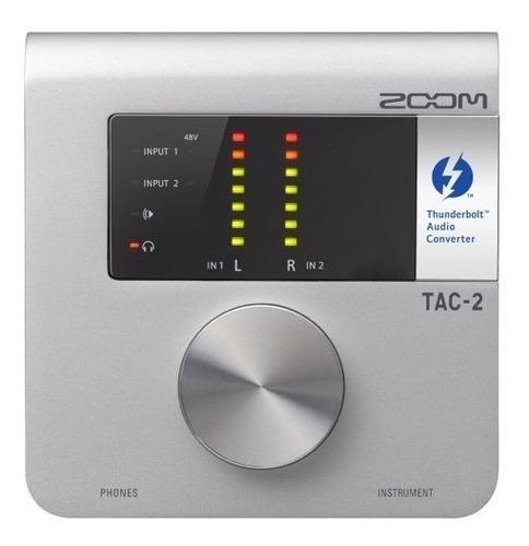 Zoom Interface De Áudio Tac-2