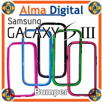 Forro Bumper Samsung S3 Estuche Protector Borde Goma