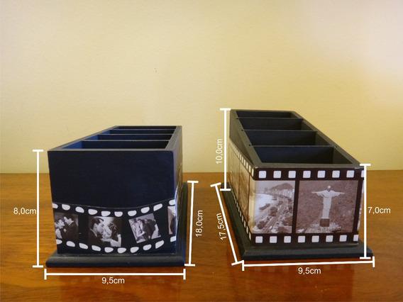 Porta Controle Personalizado Com 4 Divisórias - Artesanato