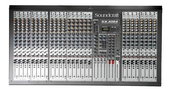 Mesa De Som Soundcraft Selenium Sx 3204 Fx Usb Sx3204