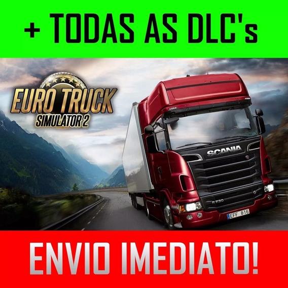Euro Truck Simulator 2 + Mapa Brasileiro Exclusivo + 70dlcs
