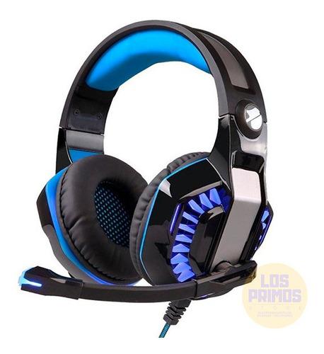 Auricular Headset Gamer Wayra Microfono Led Xbox One Ps4 Pc
