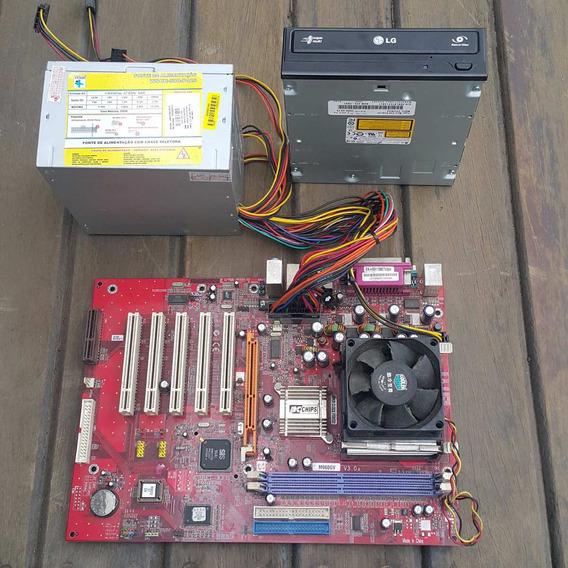 Computador Pentium 4 2,66 Ghz + Fonte+ Cdrom Sedex R$10