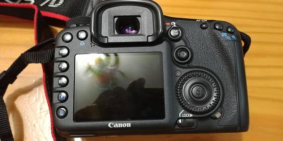 Camera Canon Eos 7d Corpo 2 Bateria Usado
