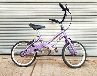 Bicicleta De Paseo Para Niña Niño Rod.14