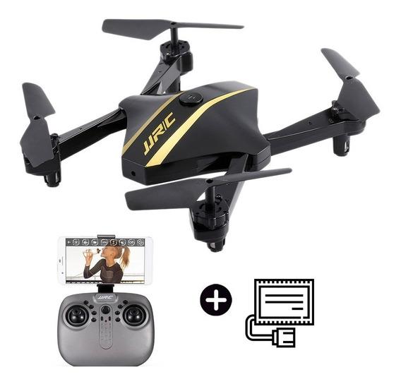 Drone Camara Wifi Celular Hd Jjrc H44 Vuelta A Casa Cuotas !