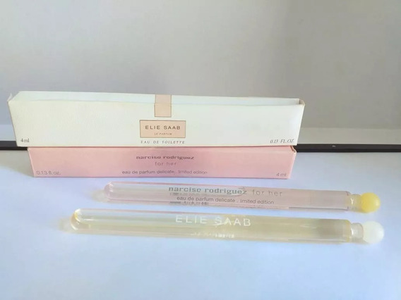 Combo Narciso Delicate For Her Edp + Elie Saab Edt 4ml