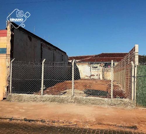 Terreno Comercial Para Locação, Campos Elíseos, Ribeirão Preto. - Te0474
