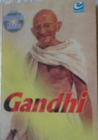 Mini Livro Gandhi - Série Grandes Mitos Ed. Escala