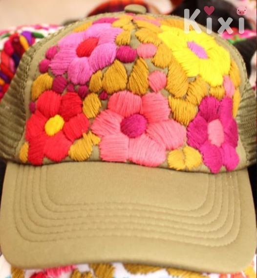 Gorra Artesanal Varios Modelos Textil Y Bordado Indigena