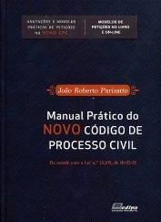 Imagem 1 de 1 de Manual Pratico Do Novo Cpc 2016 - Parizatto Frete Grátis