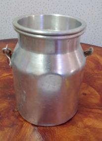 Pequeno Latão Leite Alumínio